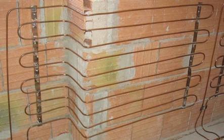 Pannelli radianti a parete e soffitto impianti termoidraulici energie rinnovbili biomassa - Riscaldamento pannelli radianti a parete ...